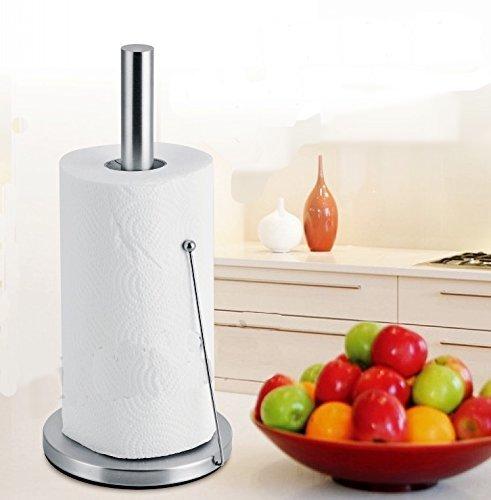 立てるタイプのキッチンペーパーホルダーの使用イメージが出来る画像