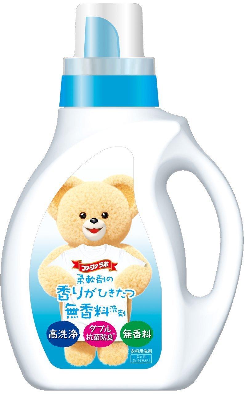 柔軟剤の香りがひきたつ無香料洗剤 の1つ目の商品画像