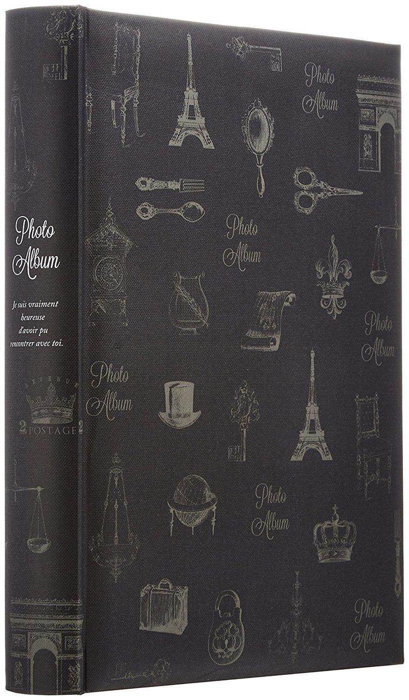 背丸ポケットアルバム アンティークイラスト BPL-240-5の1つ目の商品画像