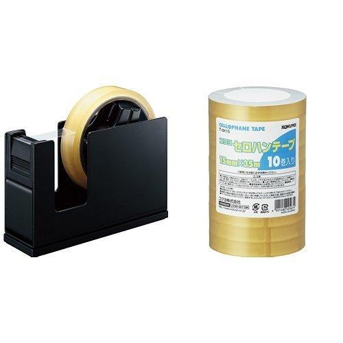 テープカッターはセロハンテープのサイズに合わせて選ぶことを説明する画像