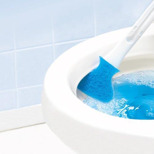 フチ裏を洗えるトイレブラシをイメージ出来る画像