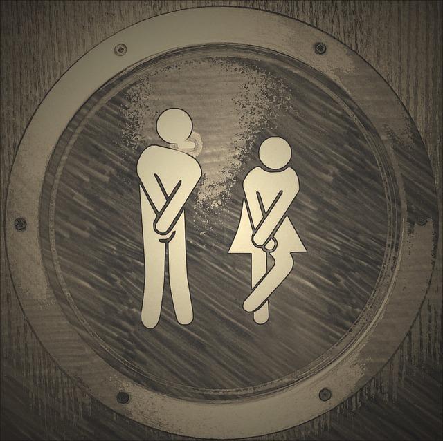 トイレを連想させる画像
