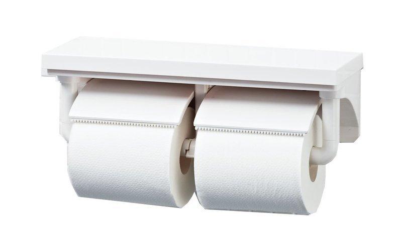 トイレットペーパーホルダーにセットできるペーパー個数を説明する画像