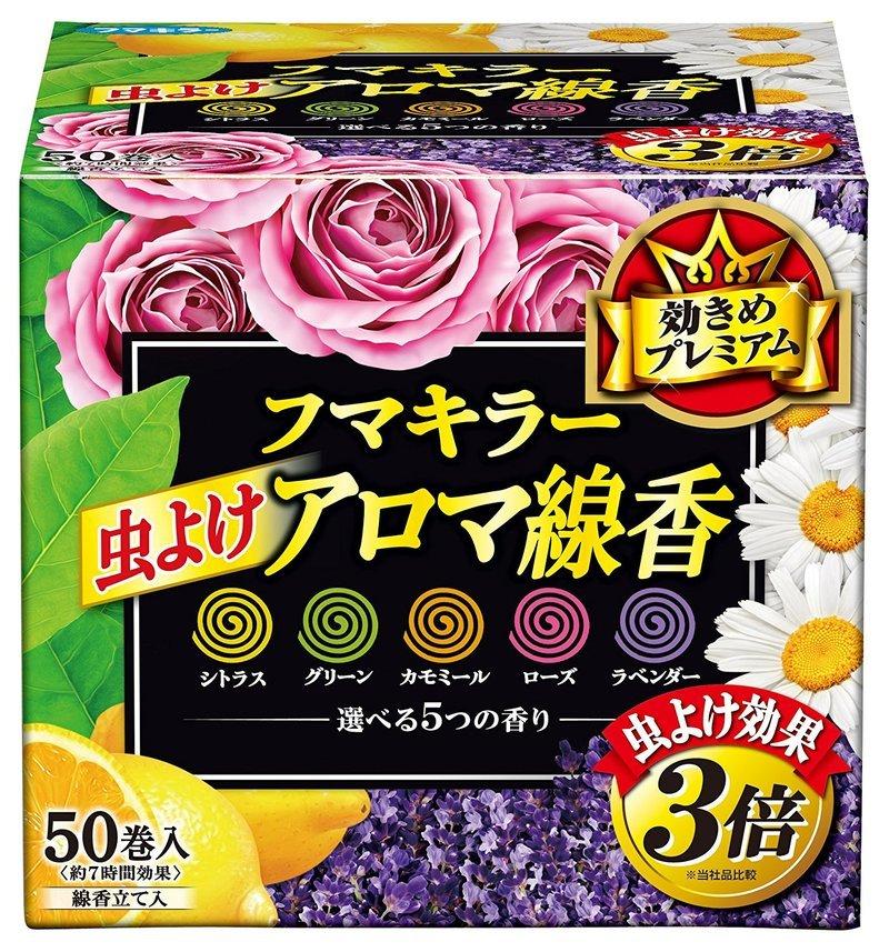 虫よけアロマ線香 の1つ目の商品画像