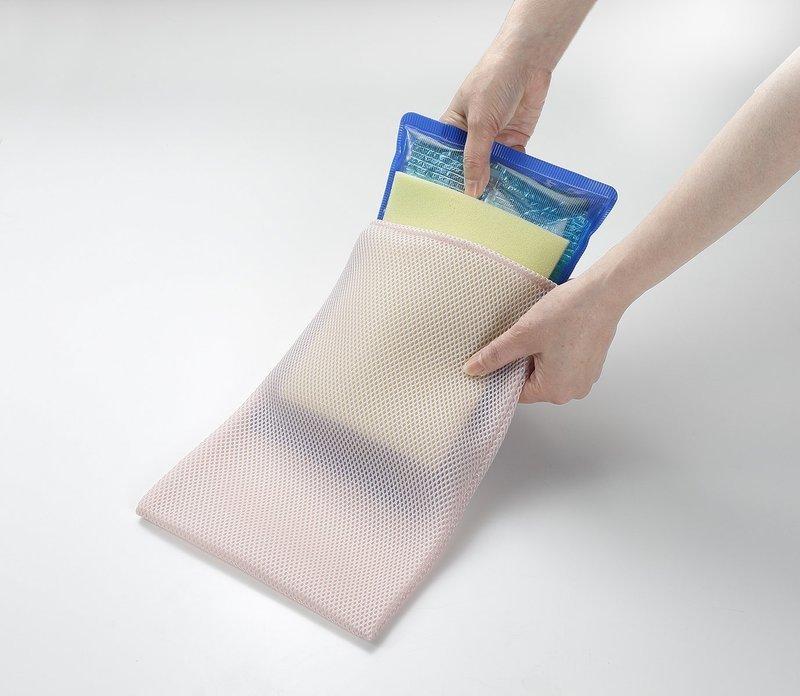 カバー付きアイス枕の参考となる画像