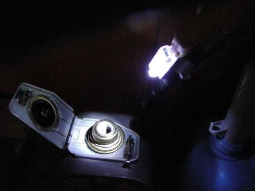 LEDライト付き灯油ポンプの画像