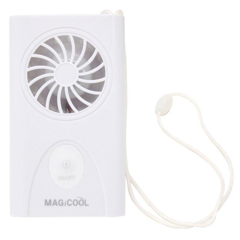 携帯型(首かけ)扇風機 マイファンモバイル DMFM-W1の1つ目の商品画像