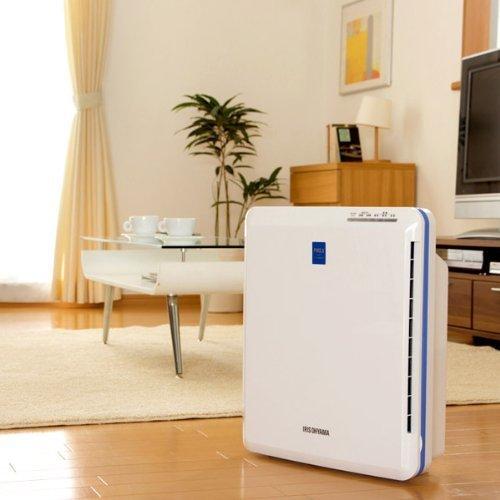 空気清浄機の吸引口を説明する画像