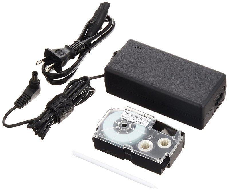 テープライターに使用するACアダプター
