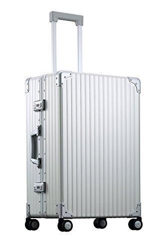 ブランド力のあるアルミ製スーツケースの画像