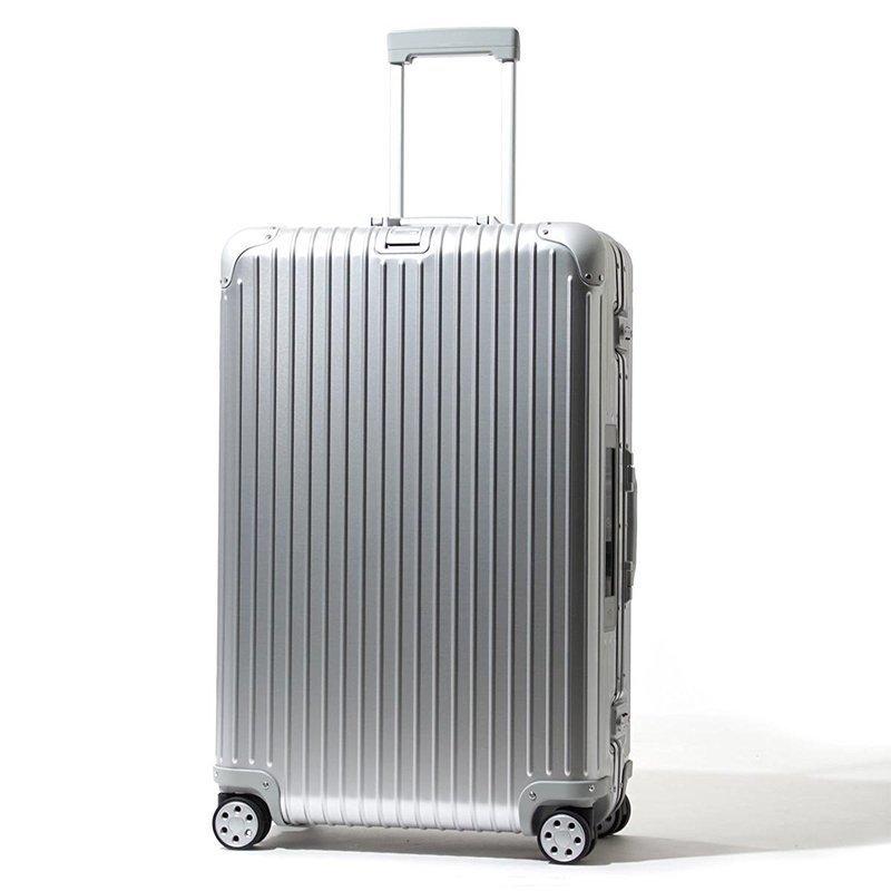 最高級クラスのアルミ製スーツケースの画像