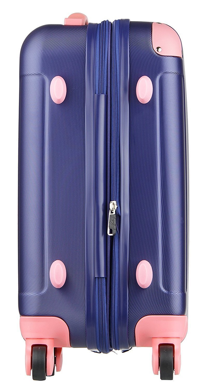 ファスナー式のスーツケース