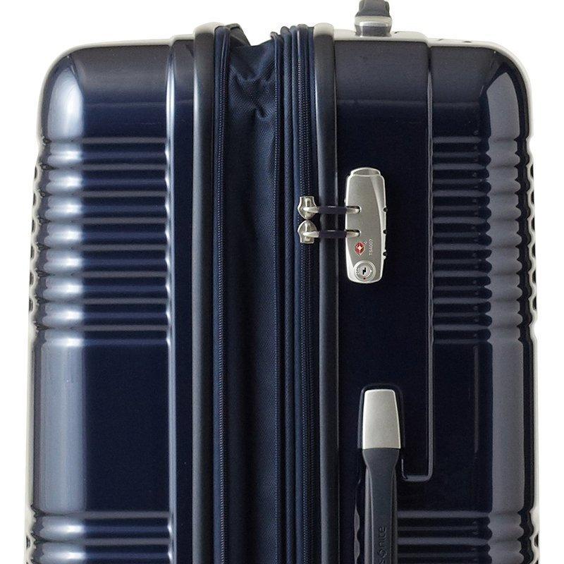 スーツケースの素材の違いを説明する画像