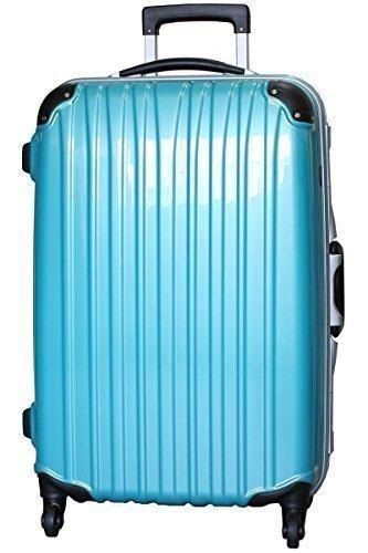 鏡面加工のスーツケース