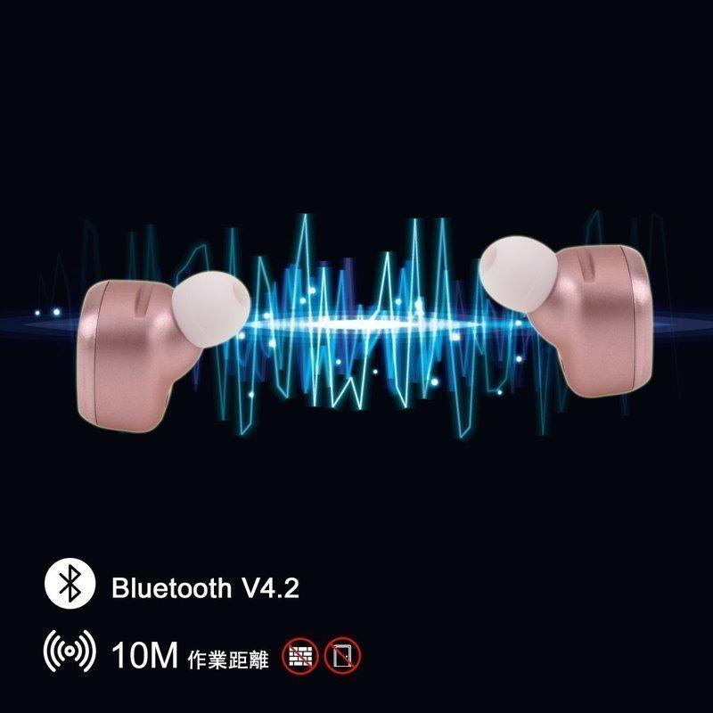 Bluetoothのバージョン4.2の完全ワイヤレスイヤホン