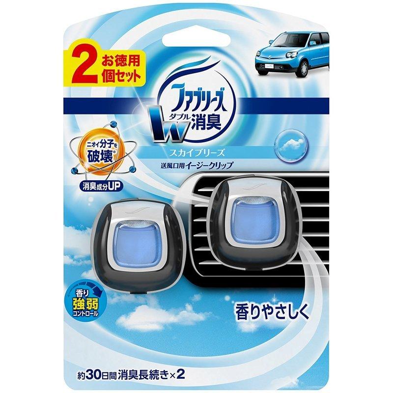 ファブリーズW消臭 車用芳香剤 の1つ目の商品画像