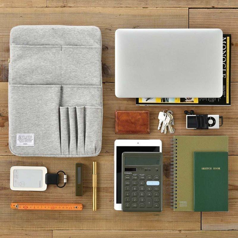 バッグインバッグに収納するアイテムを整理