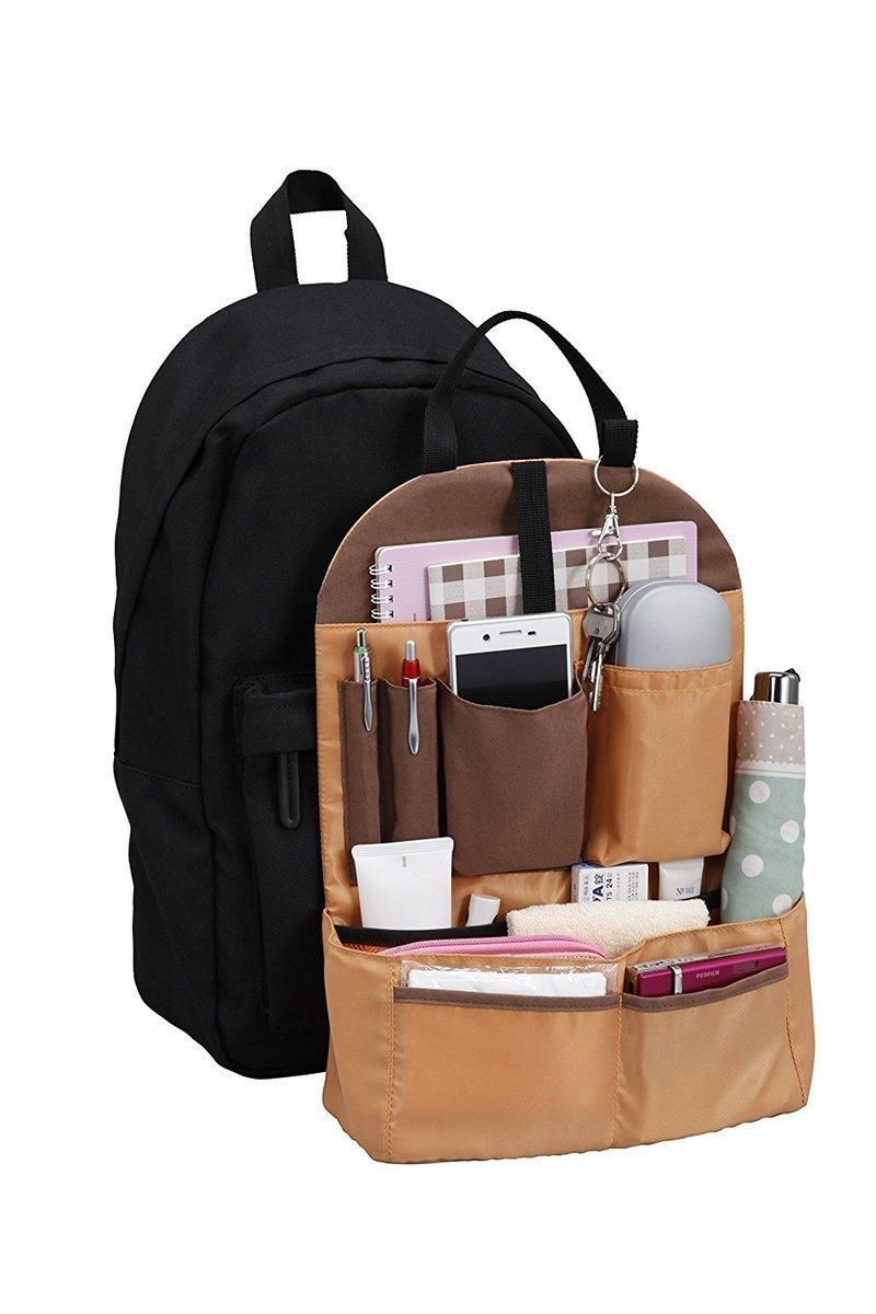 マチ広で自立する縦型バッグインバッグ