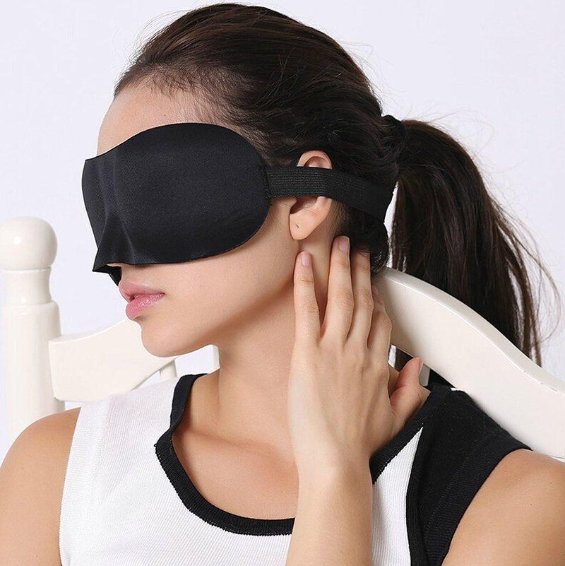 鼻を覆うタイプのアイマスク