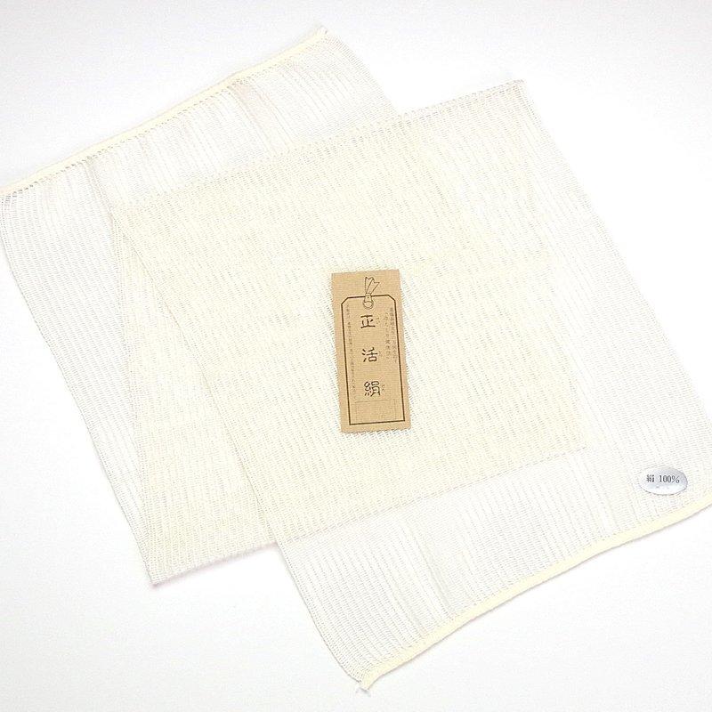 正活絹 絹ボディタオル の1つ目の商品画像