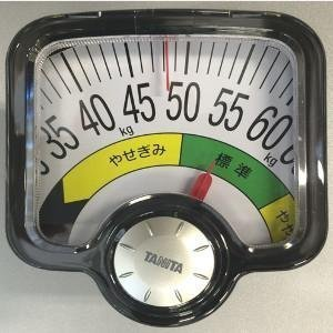 BMIが計測できるアナログ体重計