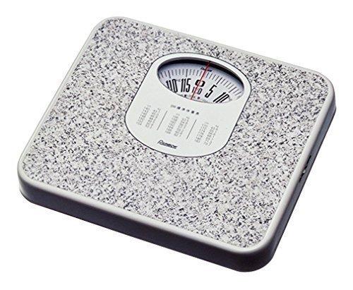 おしゃれなデザインのアナログ体重計