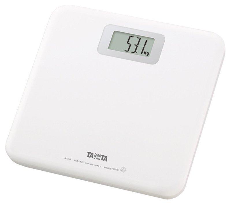 シンプルなアナログ体重計