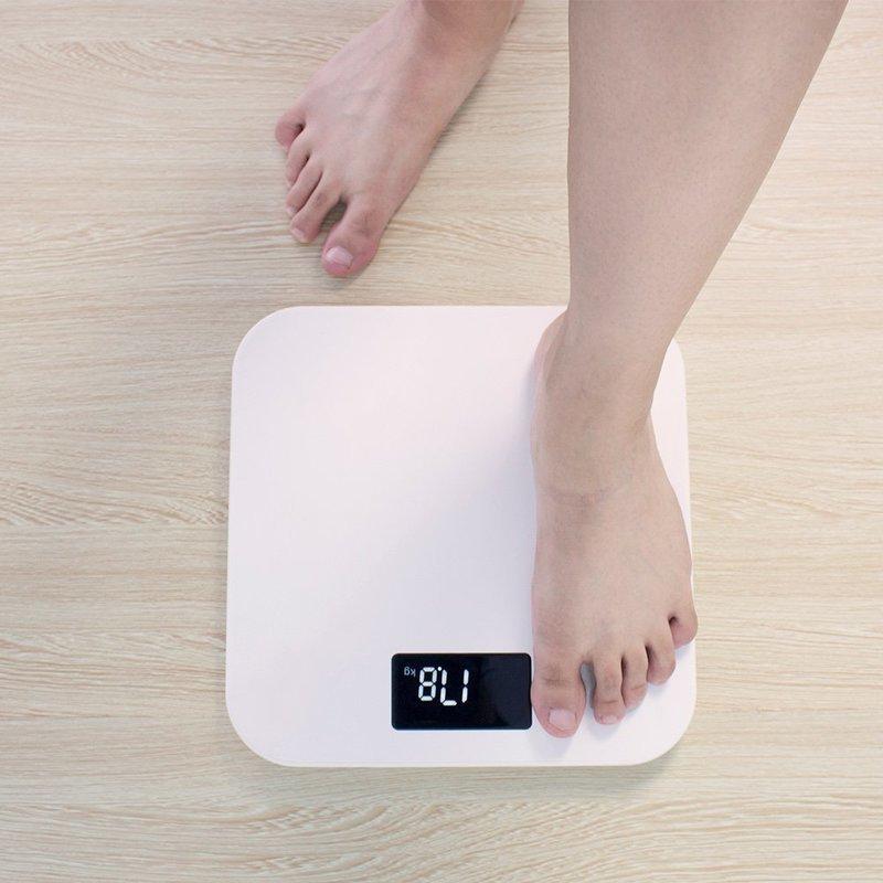 コンパクトで置きやすい体重計