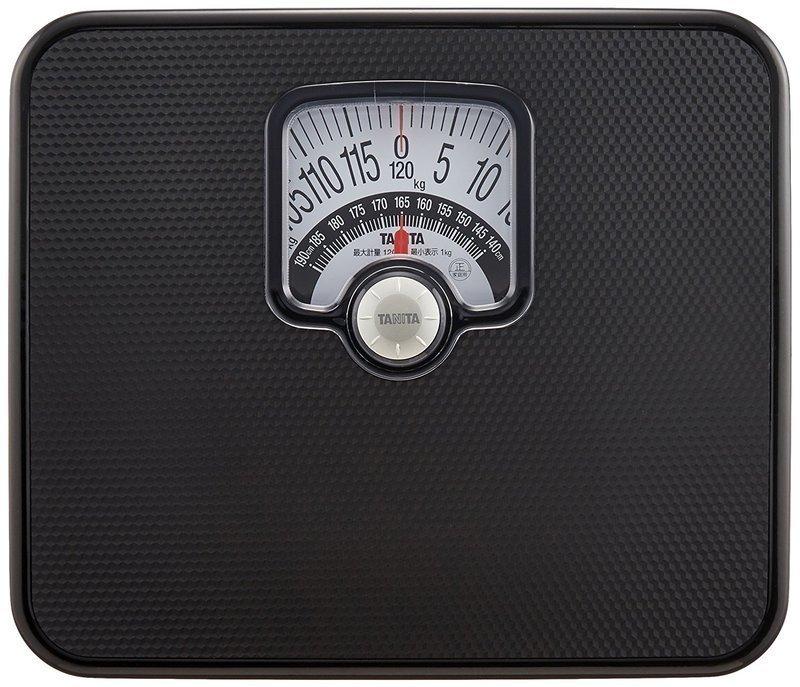 アナログタイプの体重計