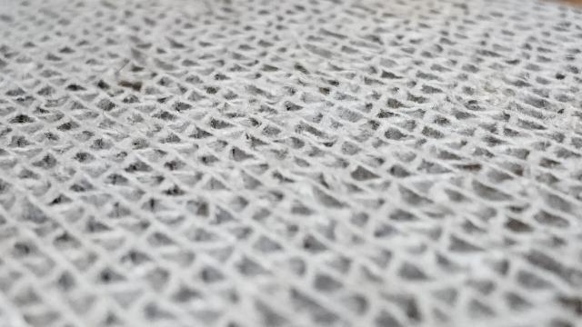 布団の繊維をアップにした画像
