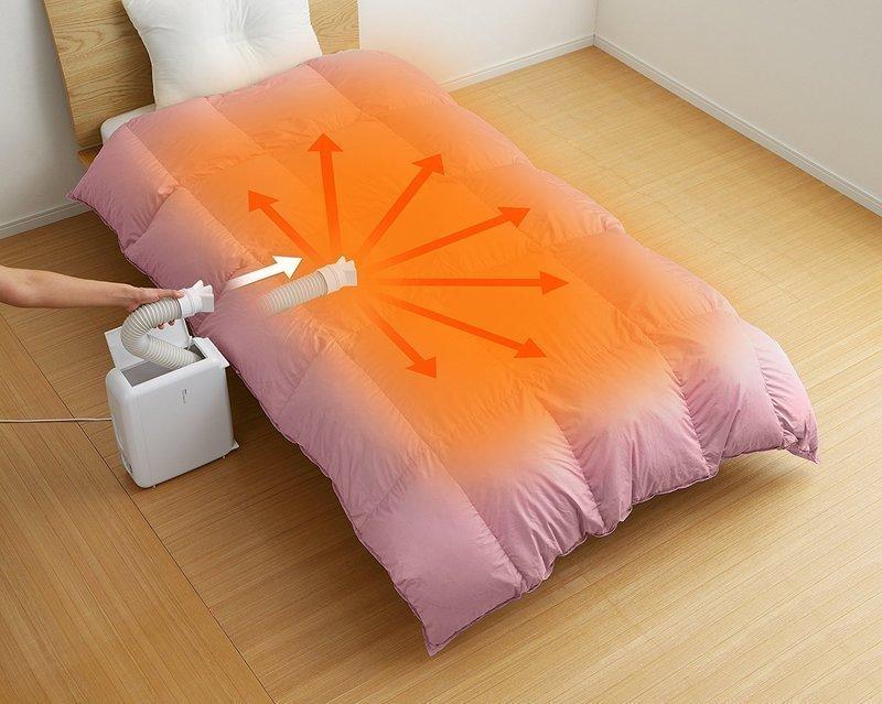 布団温め機能のある布団乾燥機