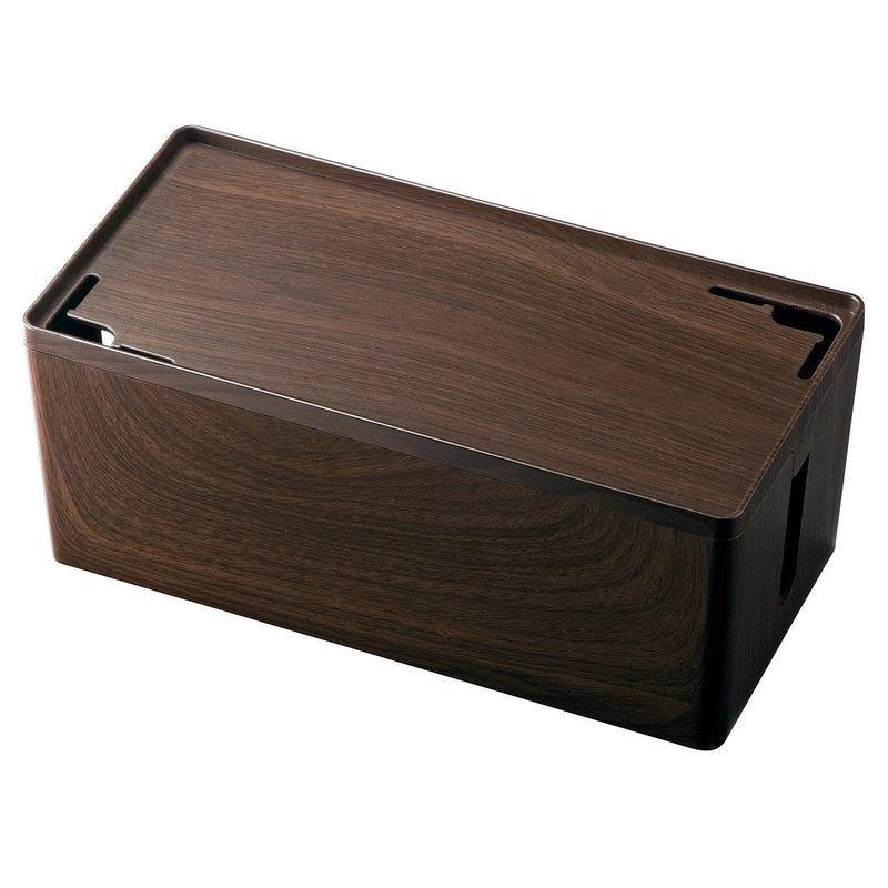 木目柄ケーブルボックス 200-CB001Mの1つ目の商品画像
