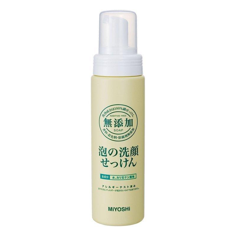 無添加 泡の洗顔せっけん の1つ目の商品画像