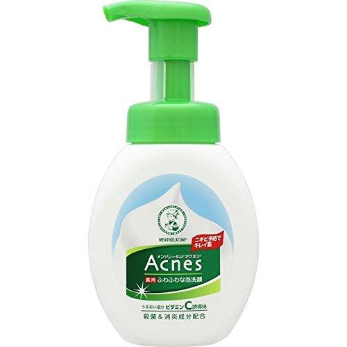 メンソレータム アクネス ニキビ予防薬用ふわふわ泡洗顔 の1つ目の商品画像