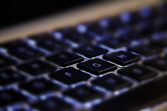 キーストロークが浅いタイプのキーボード