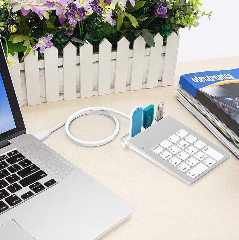 USBハブ搭載のテンキー
