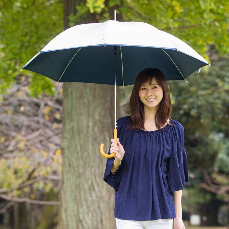 傘面が大きく余裕のある日傘