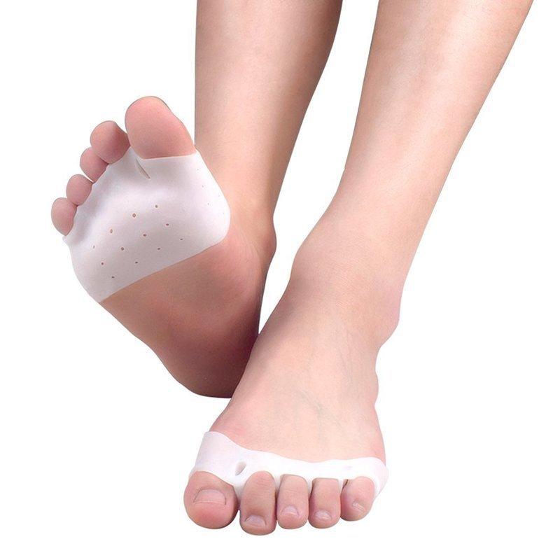 5本の足指を全て広げてくれる外反母趾サポーター