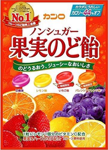 ノンシュガー果実のど飴 の1つ目の商品画像