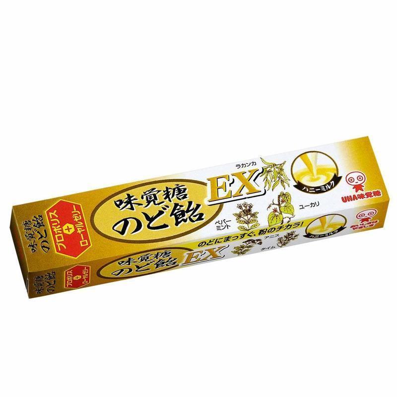 味覚糖のど飴 EX の1つ目の商品画像