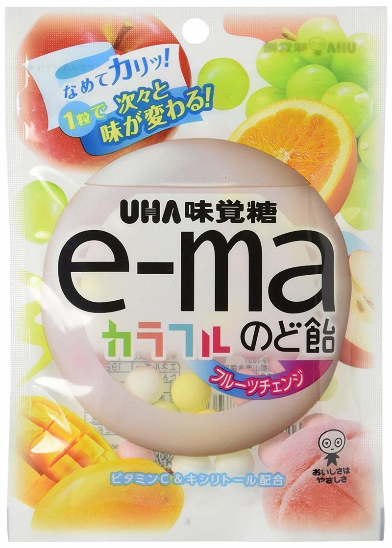 e-maのど飴 カラフルフルーツチェンジ の1つ目の商品画像