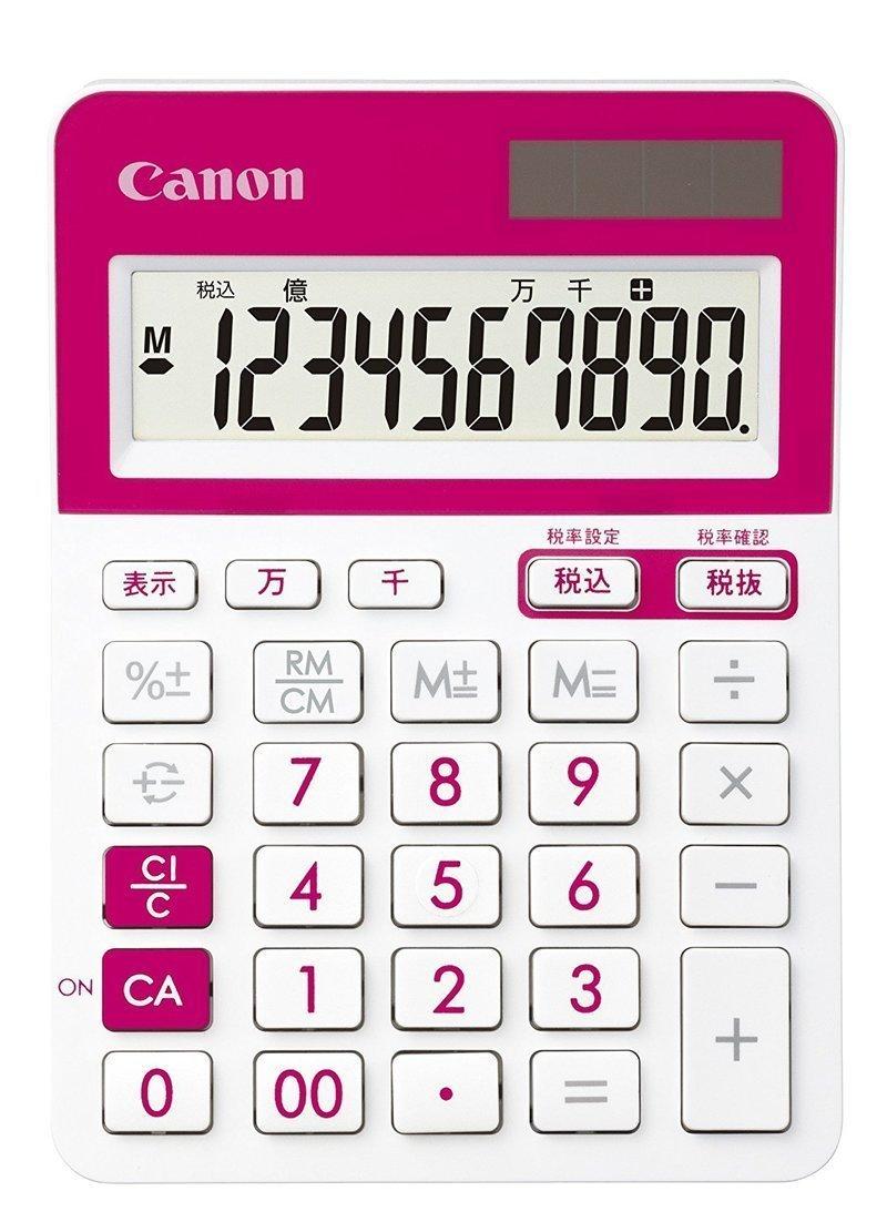 10桁タイプの電卓