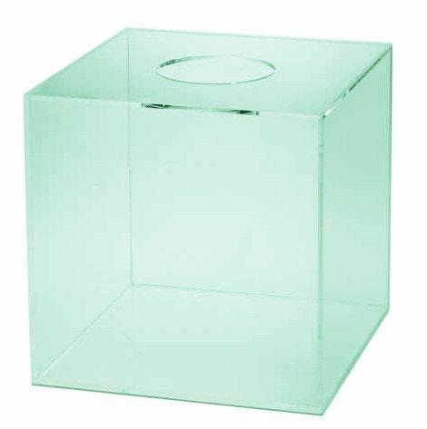 プラスチック製の抽選箱