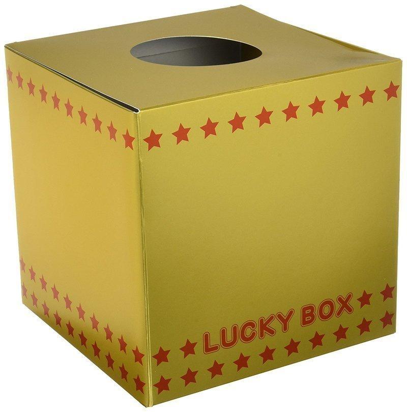 紙製の抽選箱