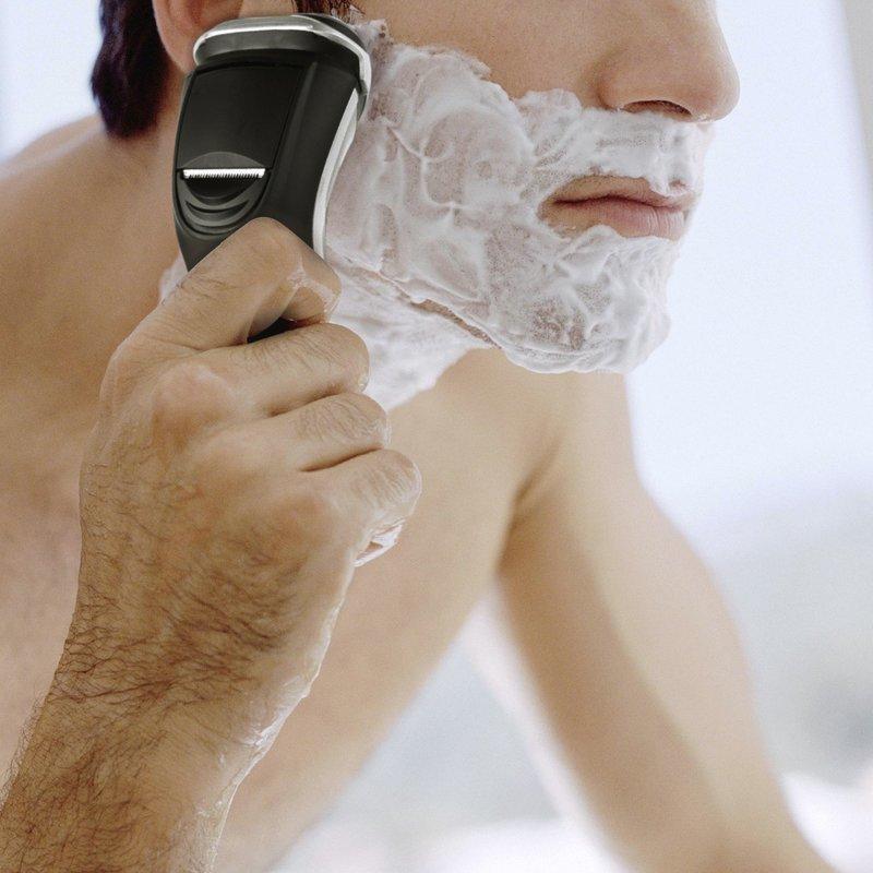 お風呂剃り出来る回転式電気シェーバー