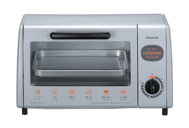 火力調整機能のないオーブントースター