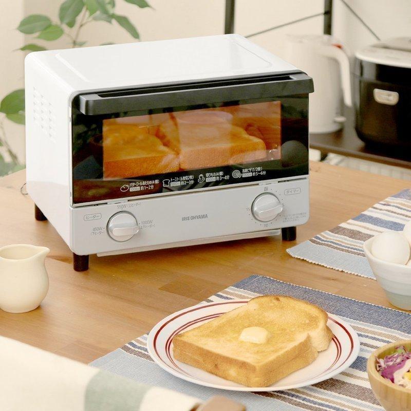 コンパクトなスチームオーブントースター
