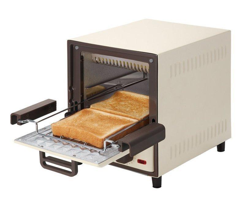 2枚焼き出来るスリムなオーブントースター