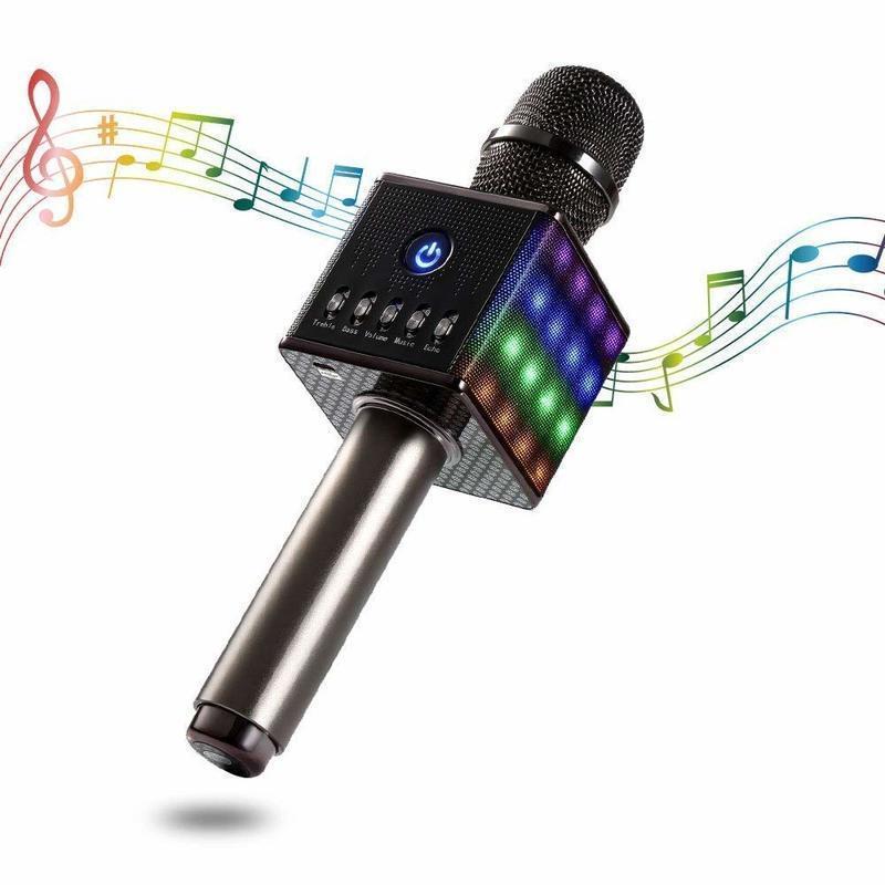 Bluetoothカラオケマイク&スピーカー の1つ目の商品画像