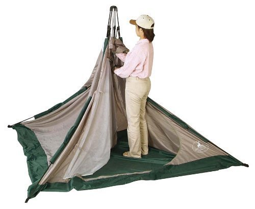 ワンタッチタイプのテント